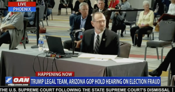 "Crowd Gasps At AZ Hearing: ""Your Vote is Not as Secure as Your Venmo Account"" [VIDEO]"
